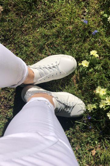 pantalone lungo bianco NAM