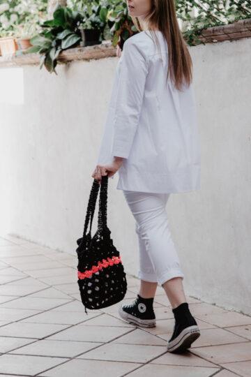 Pantalone bianco NAM