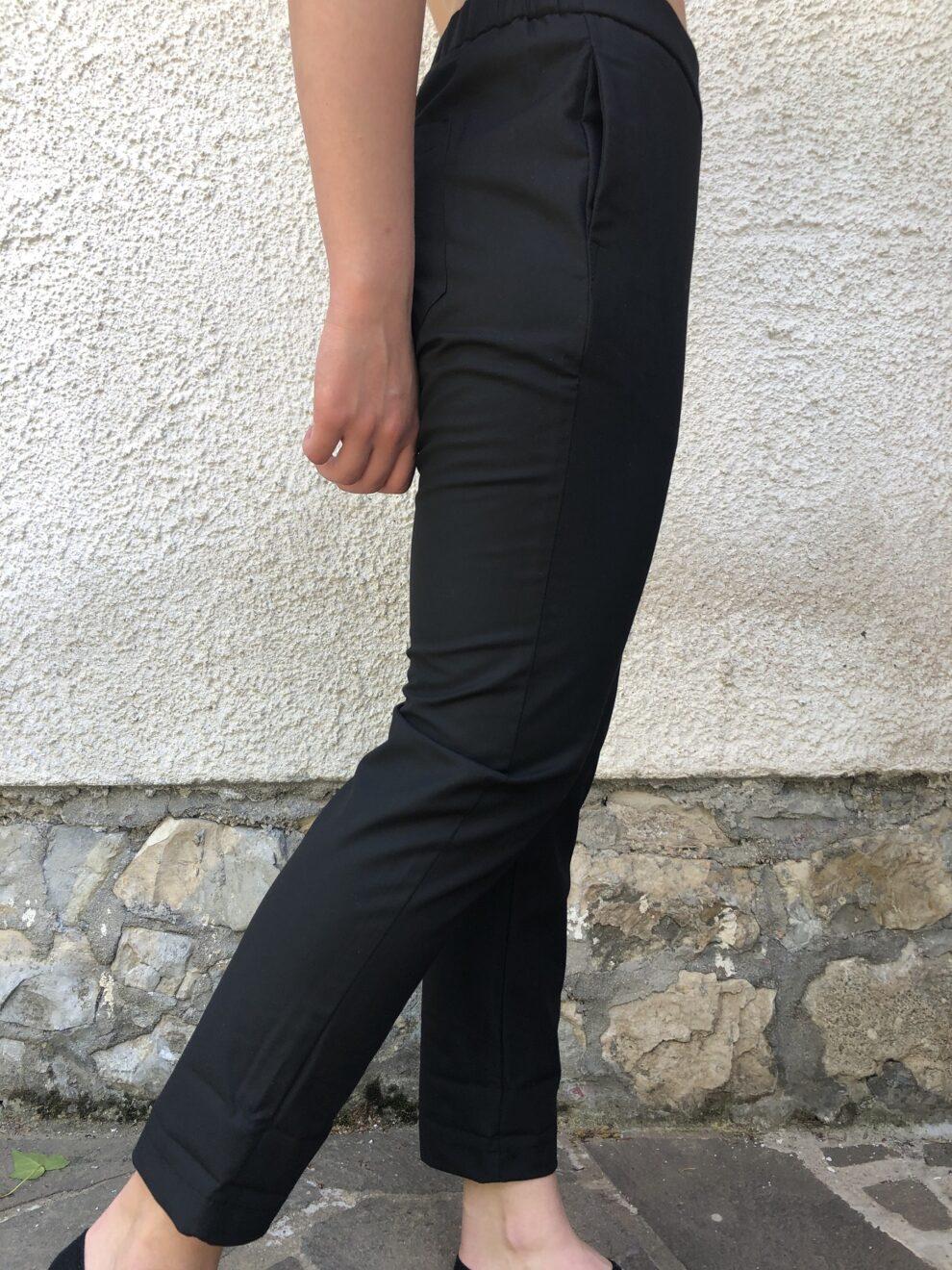 Pantalone Nero Nam particolare - tasca