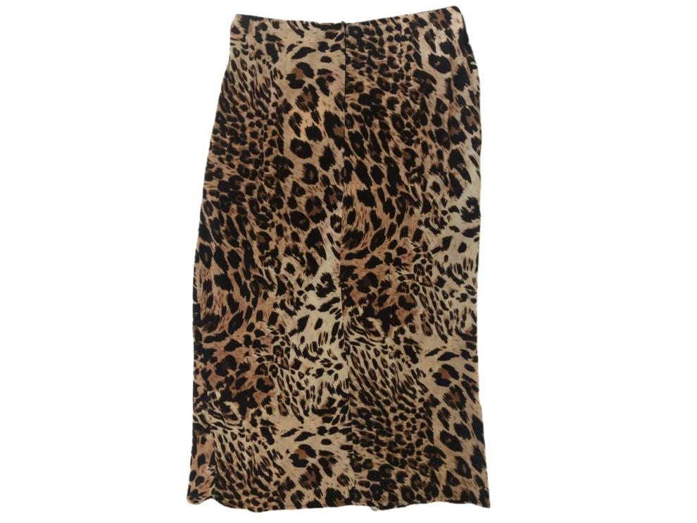 Longuette leopardata Vicolo particolare - dietro