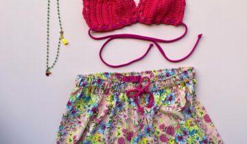 Quale costume scegliere per essere alla moda? Il bikini all'uncinetto!